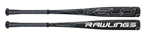 Rawlings VELO End-Load BBCOR Adult Baseball Bat BBRVE (-3)